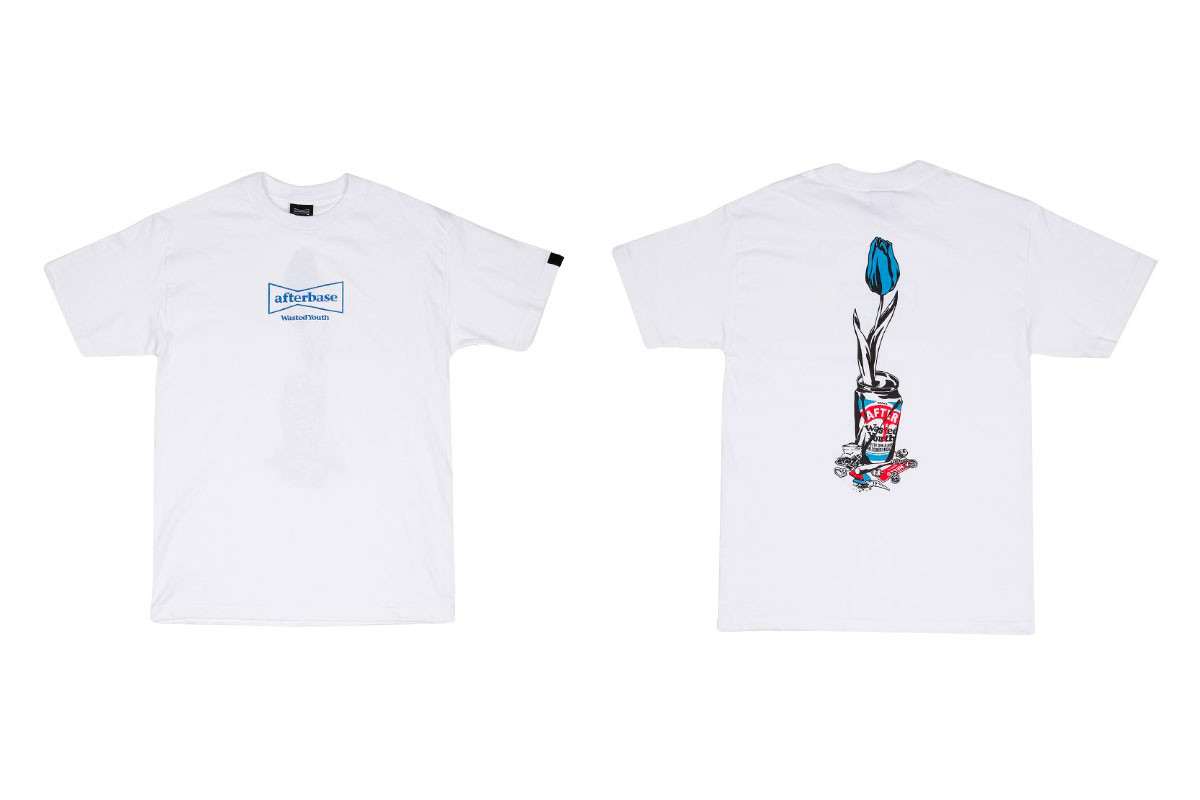 afterbase x Wasted Youth Exclusive Pop Up Capsule hat pillow hoodies long short sleeve t shirt Verdy