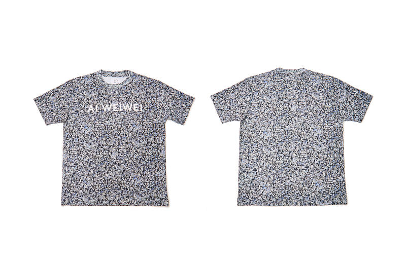 """Ai Weiwei Drops """"Life Cycle"""" T-Shirt Capsule for Solo Exhibition"""