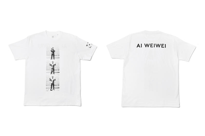 ai weiwei life cycle t-shirt capsule marciano art foundation clothing apparel artworks