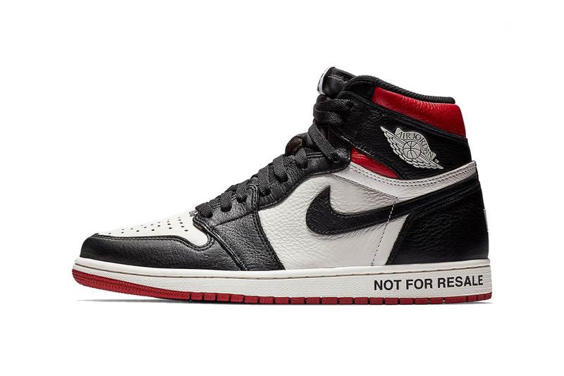 99c5e54c804f air jordan 1 retro high og not for resale sail black varsity red 2018  november footwear