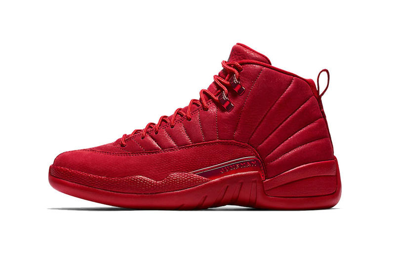 Air Jordan 12 Now Available at StockX basketball gym red tonal sports jumpman brand michael white