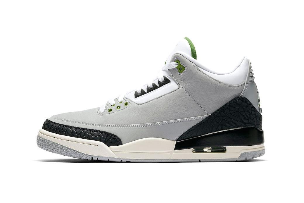 los angeles 86608 8aaad Air Jordan 3 Chlorophyll Buy Now at StockX | HYPEBEAST