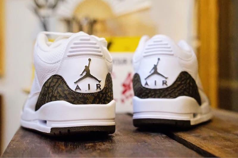 "Air Jordan 3 ""Mocha"" 2018 Release Date sneaker jordan brand sneaker"