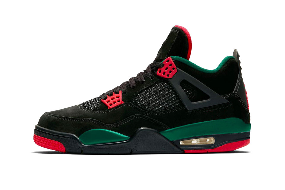 92a0542f831f A Gucci-Colored Air Jordan 4 Could Be Landing in 2019