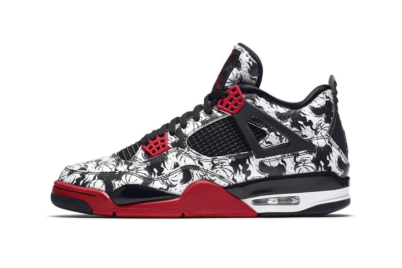 Air Jordan 4 Singles Day and Tattoo at