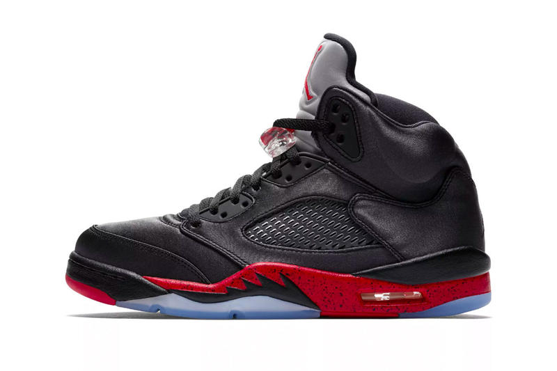 1 Retro High OG Paris Saint-Germain Bred air jordan 5 stockx sneakers basketball footwear sports red black satin soccor