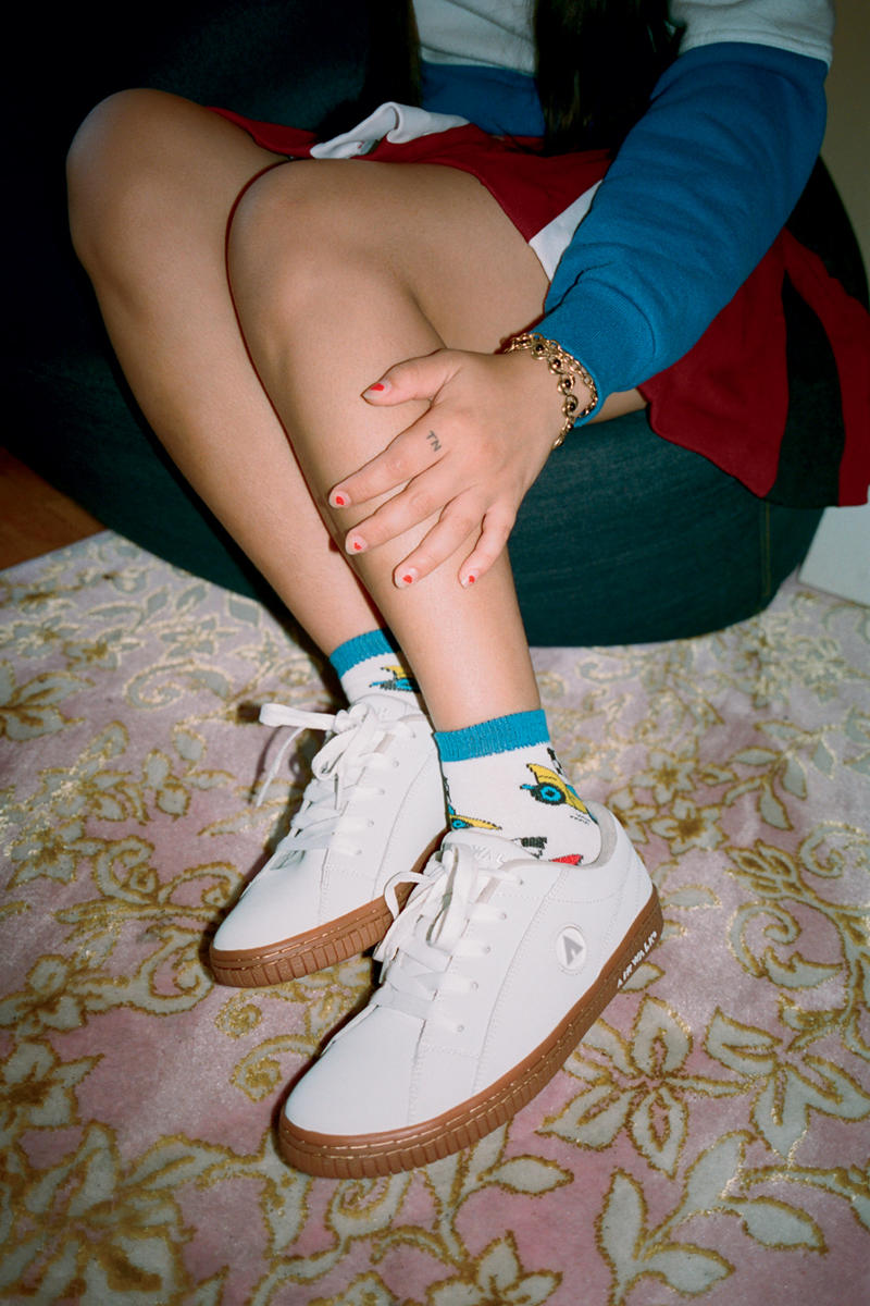"""Airwalk """"Teen Spirit"""" Campaign Lookbook red white gum sole brown carpet denim blue skateboarding zumiez pac sun"""