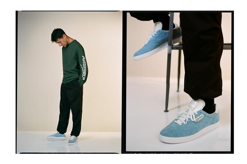 Alltimers Holiday 18 Lookbook Teases Upcoming adidas Collaboration winter holiday adidas gazelle Dustin Henry Michael J Fox skateboarding