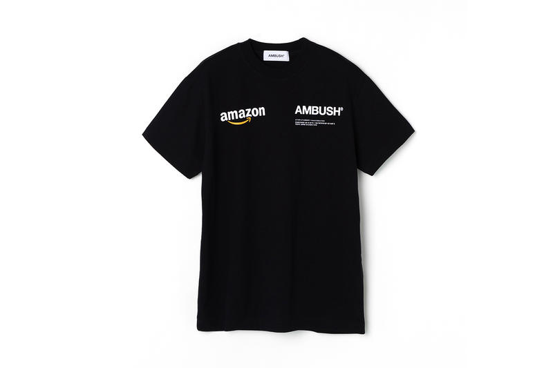 Amazon Fashion AMBUSH® Workshop Tokyo Pop Up Yoon Verbal short long sleeve T shirt Hoodie Alexa