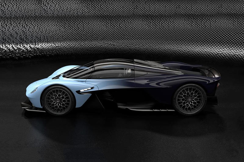 Aston Martin Valkyrie Hypercar Official Info racing red bull f-1 formula one hypercar sportscar speed track turbo luxury British