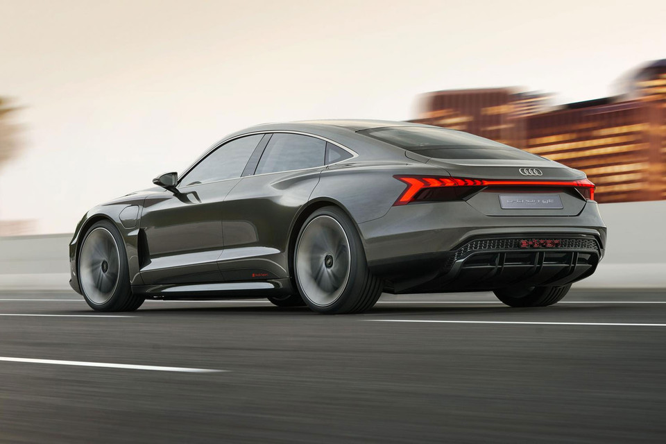 UPDATE: Audi's e-tron GT Electric Concept Car Confirmed for 'Avengers 4'
