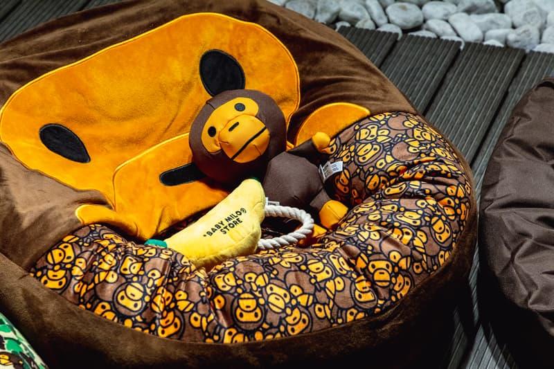 Baby Milo's Pet Collection Pop-Up bape a bathing ape dogs monkeys pet stuff hong kong