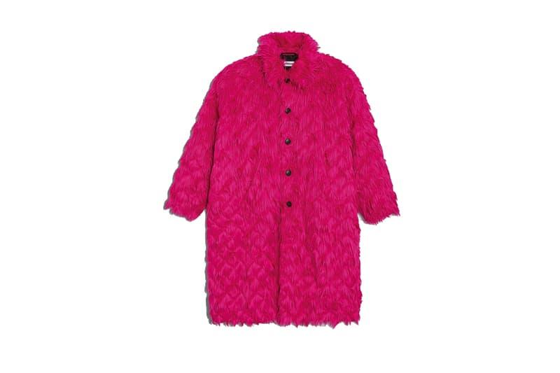 Balenciaga Rose Bubble Gum Coat hot pink jackets fall winter 2018