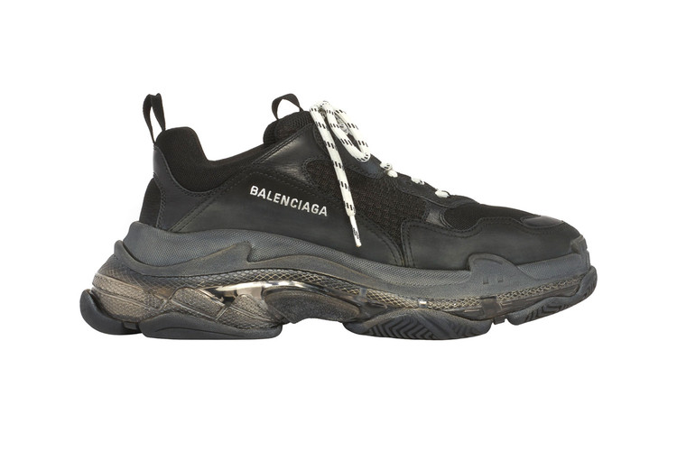 2ff5adee1a9b3 Balenciaga Adds Clear Air Unit to Its Triple S Sneakers