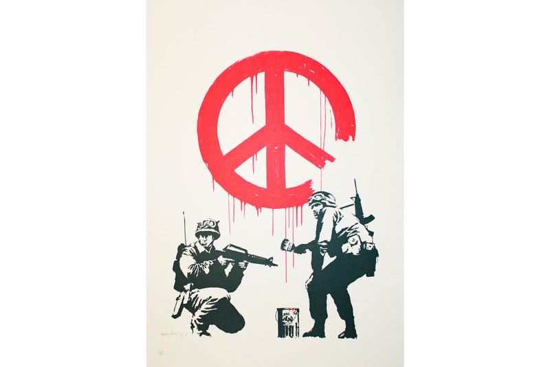 Banksy: Who's Laughing Now? Hong Kong Exhibition art auctions paintings