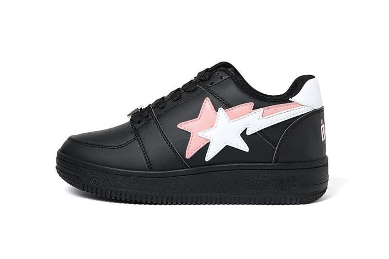 Bape-Sta Double Star Low Release Info A Bathing Ape footwear sneakers trainers shoes kicks japan nigo BAPE A Bathing Ape leather