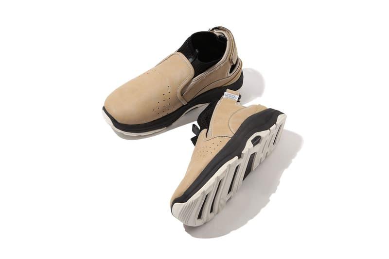 BEAMS suicoke rav sandal shoe footwear hybrid fusion slip on lacelss fall winter 2018 collaboration drop release date info october 30 2018