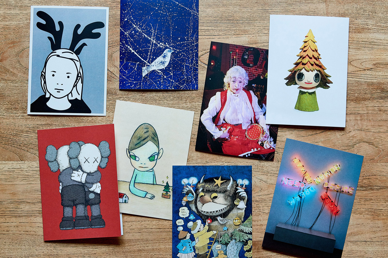 best art drops artworks for sale online james jean traveler print moma design store holiday cards kaws yoshitomo nara jean jullien bright idea lamp ryu futura ces wane stash