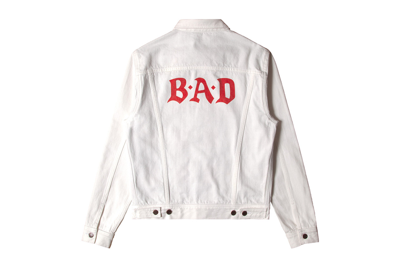 Big Audio Dynamite NOAH Fall Winter 2018 Collaboration Collection don letts baracuta jacket suit jeans tee shirt enamel pin bad drop release date info online web store november 2018 15