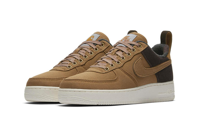 check out 85a73 003f5 Carhartt WIP x Nike Air Force 1 Official Imagery release date info price  sneaker collaboration colorway