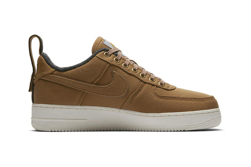 Carhartt WIP x Nike Air Force 1 Official Imagery release date info price sneaker collaboration colorway brown purchase retailers stockists online details