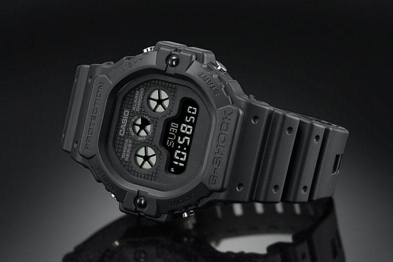 Casio G-SHOCK DW-5900 walter rerelease date info price watch model black DW-5900-1 DW-5900BB-1