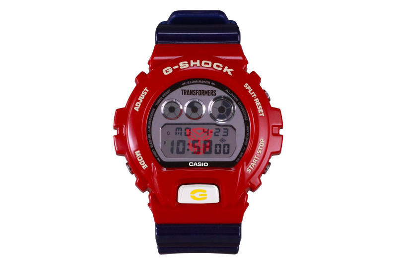 Casio x Transformers 35th Anniversary G-Shock Watch japan Toys timekeeping digital collectibles watches glow Optimus Prime autobots decepticon