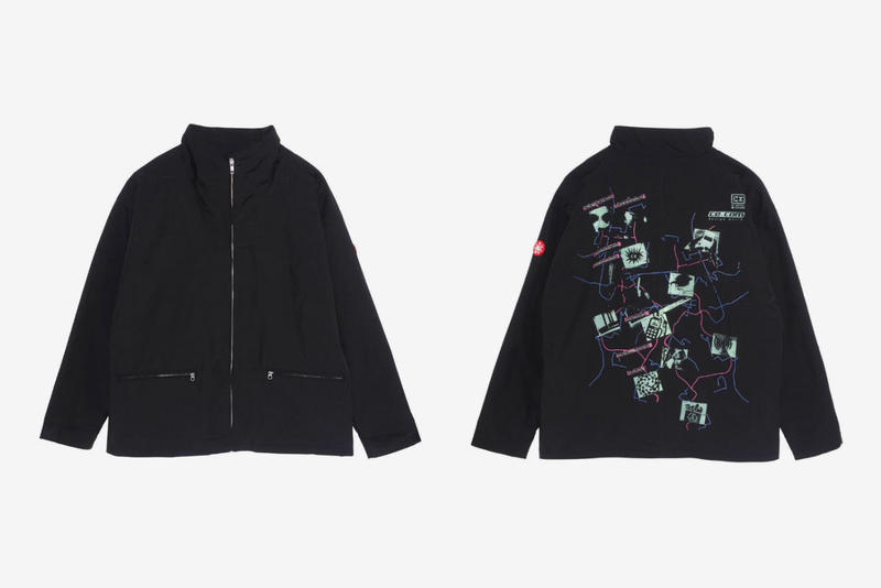 Cav Empt November Fall Winter 2018 Drop C.R LEATHER JACKET DESIGN WORLD CREW NECK ZIGGURAT KNIT TRAINING TRACK BOTTOMS ZIP JACKET CARD 19/2 CREW NECK CHARGE KNIT CAP