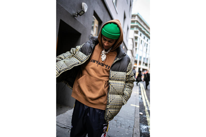 Comethazine London Street Style Streetsnaps Music Artist Rapper Hip-Hop Bawskee American