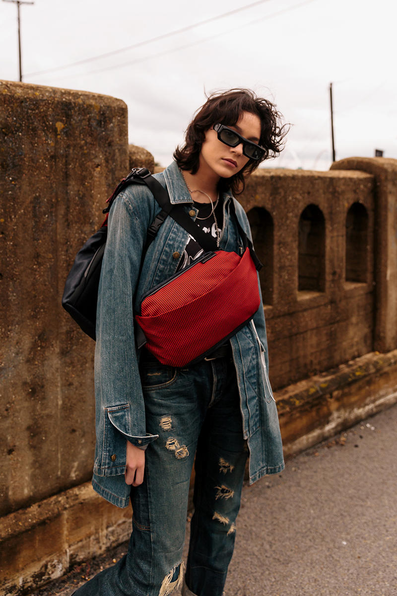 "côte&ciel 'Red Noise"" Capsule Collection Details Closer First Look Bags"