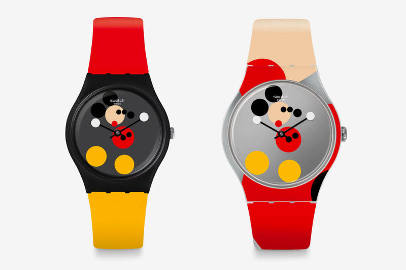 Damien Hirst x Swatch Mirror Mickey Release Info Date red black yellow white