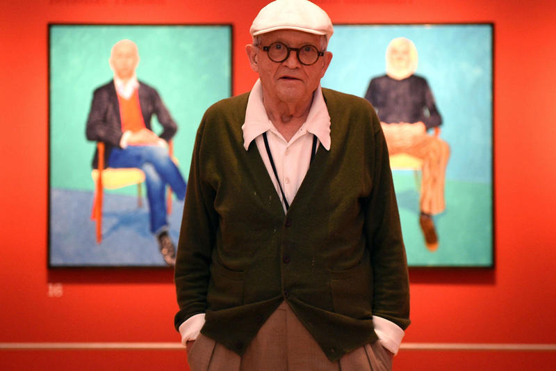 david hockney christies auction record most expensive arwork by living artist paintings pieces works