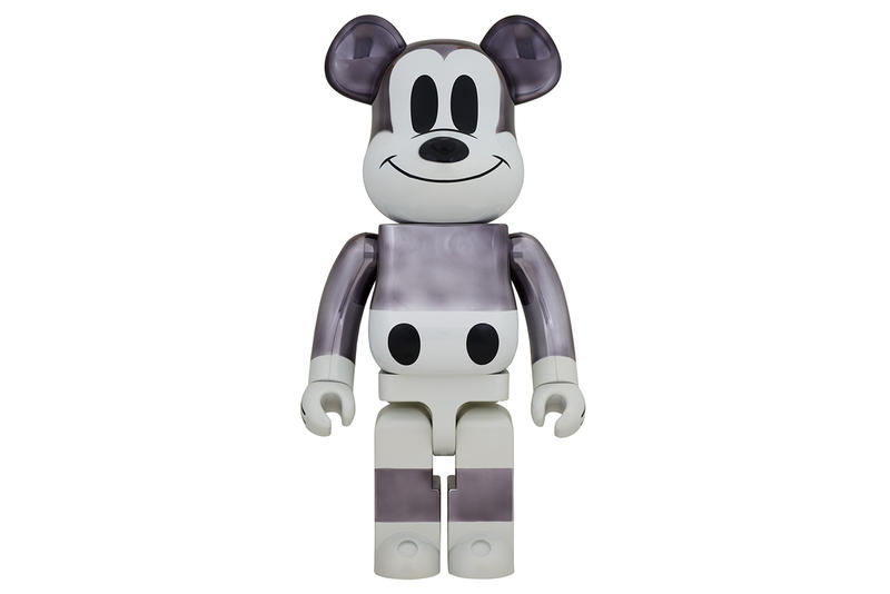 fragment design x Disney Bearbrick Toy Details Medicom Mickey Mouse Release Information 90th Anniversary First Look Hiroshi Fujiwara