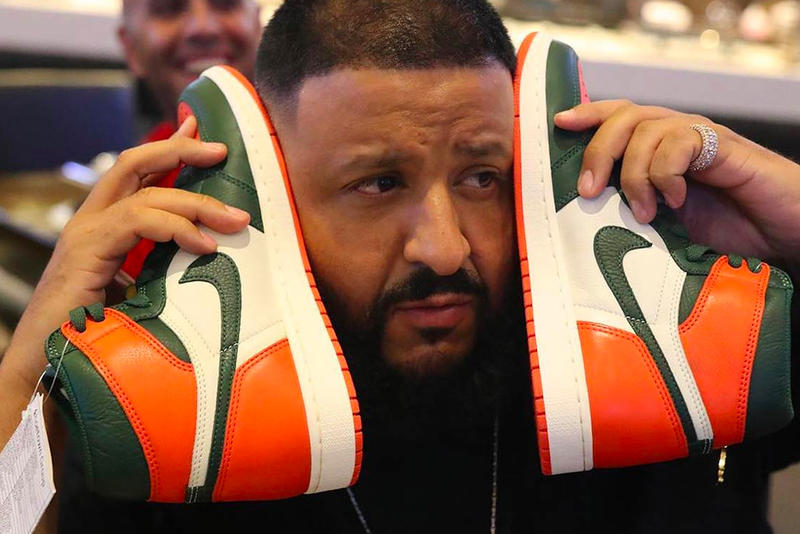 DJ Khaled Solefly x Air Jordan 1 Art Basel Miami shoes mia jordan michael jordan sneakers patent leather Florida 305 rap music producer