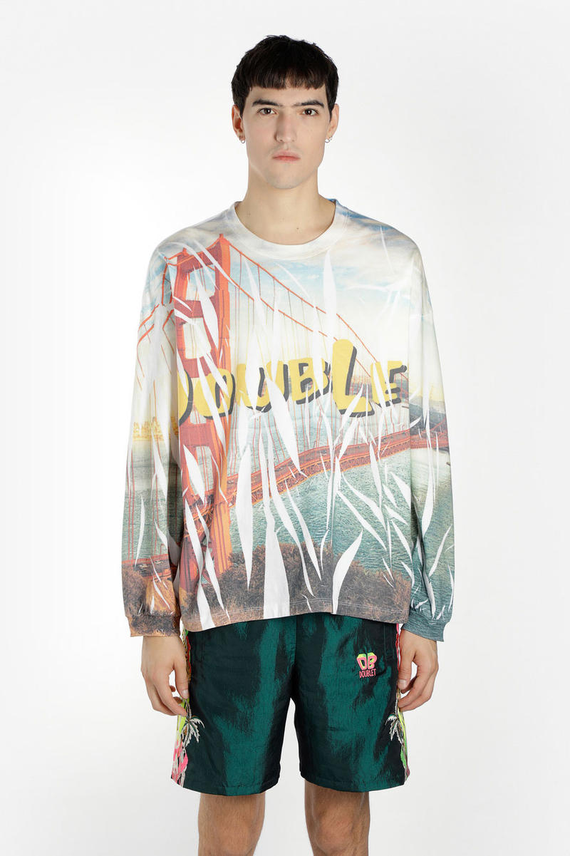 doublet spring summer 2019 collection pre order antonioli masayuki ino graphic ss19 t shirt hoodie pant socks graphics buy where cardigan