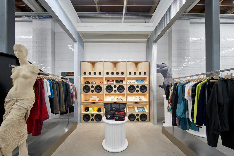 Dover Street Market Los Angeles Inside Look Now Open Details Store Shop Date BETTER™ Gift Shop BLACK Comme des Garçons Chanel Fine Jewelry Charles Jeffery Loverboy doublet ERL Nike IDEA Jacquemus Maison Margiela Marine Serre Melitta Baumeister NikeLab Noah NYC noir Kei Ninomiya Off White™ Virgil Abloh Palace Skateboards Pat McGrath LABS x The MET Raf Simons sacai Simone Rocha Stüssy Stephen Jones