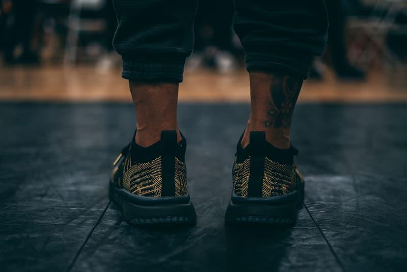 Dragon Ball Z x adidas EQT Support ADV Primeknit Super Shenron On foot black gold originals