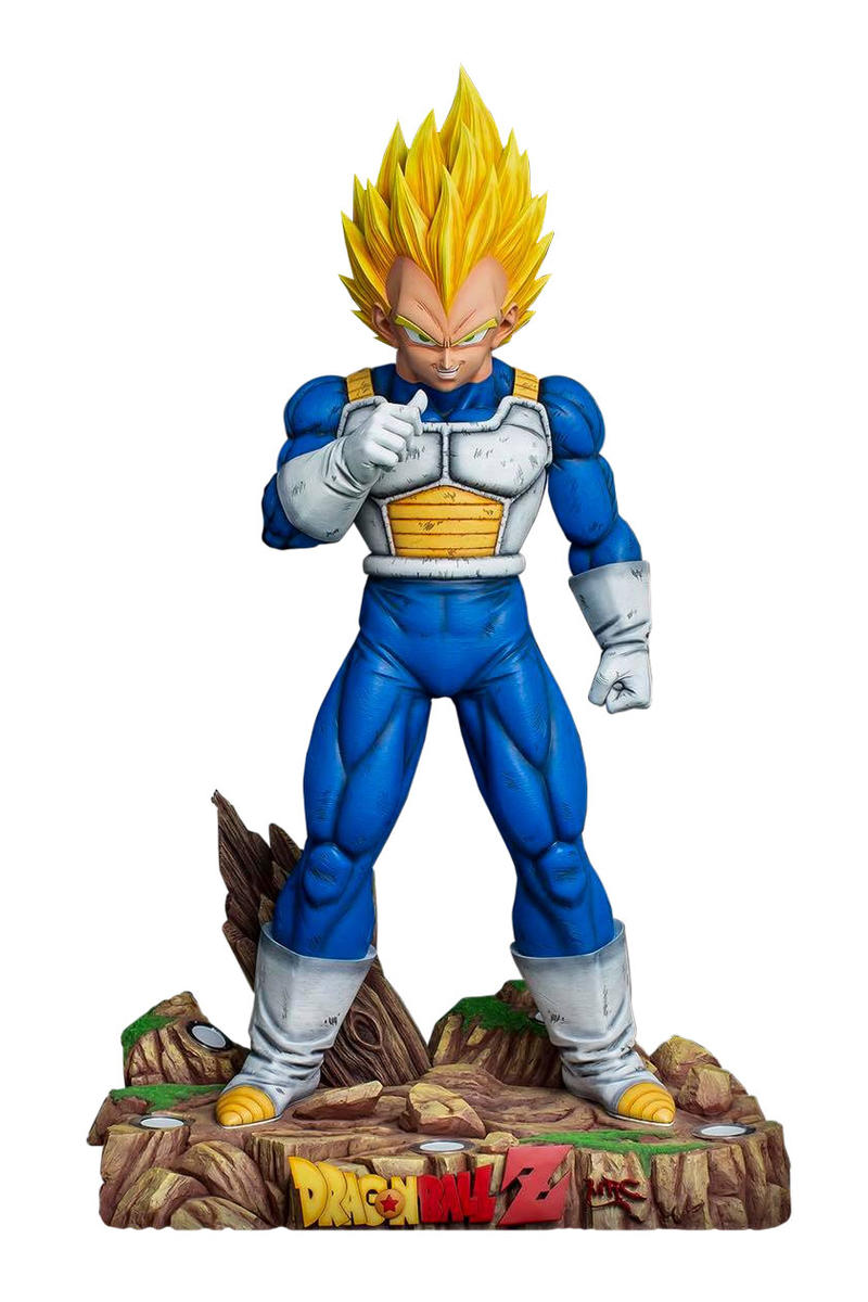 Dragon Ball Z Super Yumr MRC Life Size Vegeta Resin Statue Bust Collectible 1:1 Scale