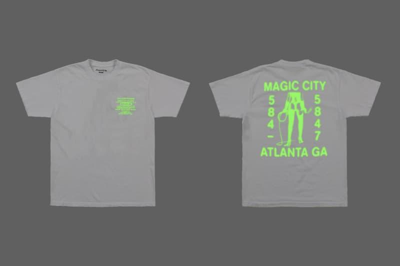 Drake Magic City Scorpion City Capsule glad whip white pole girls Atlanta white red glow in the dark hoodie t shirt sweat pants shorts