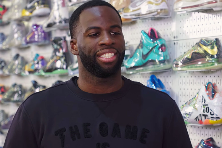 943016bc9f34e Draymond Green Talks Playing in the Off-White™ x Nike Hyperdunk on  Sneaker