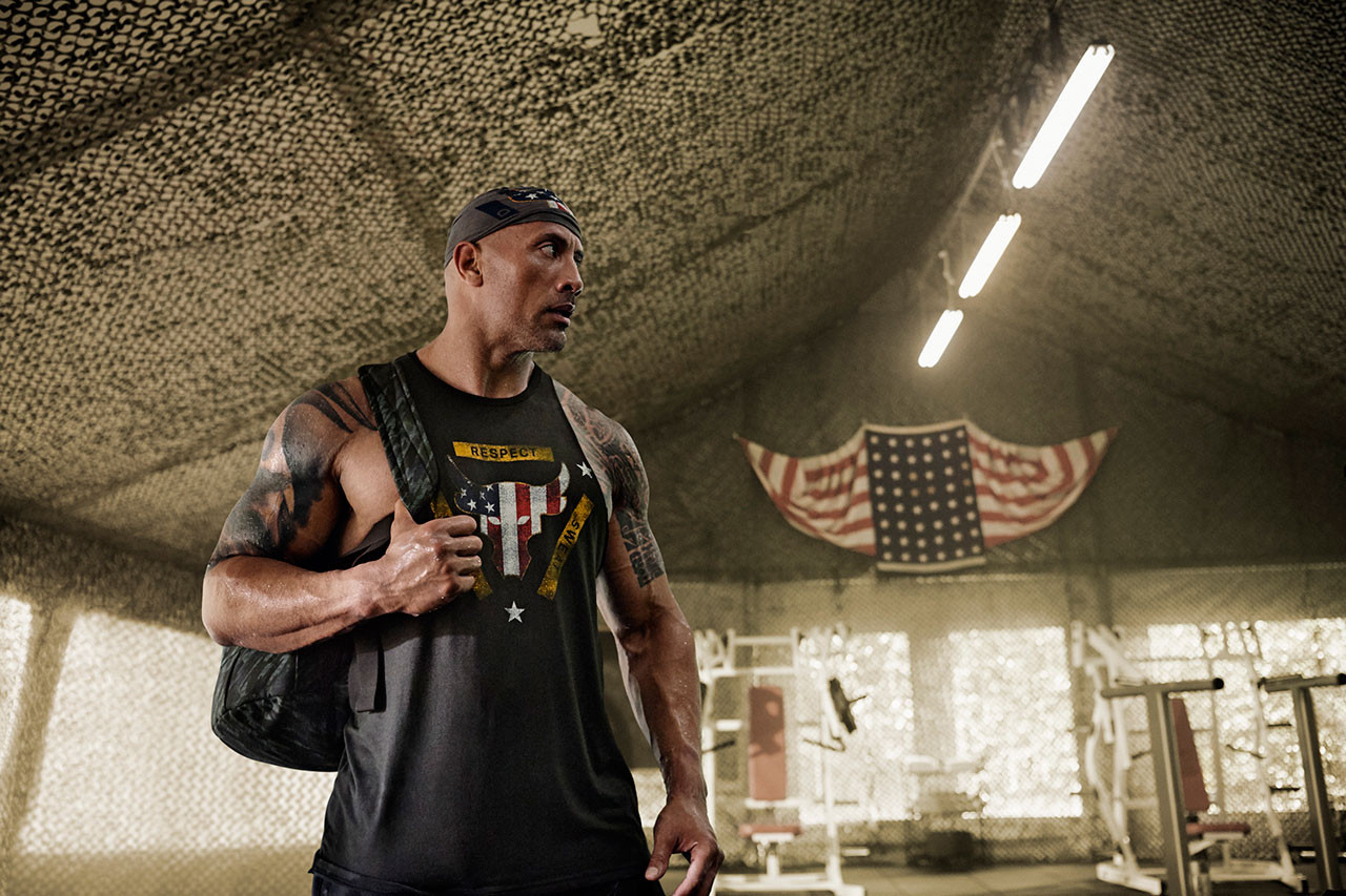Under Armour \u0026 The Rock Veterans Day