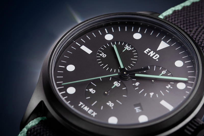 END. x Timex 'Blackout' Timepiece Project.02
