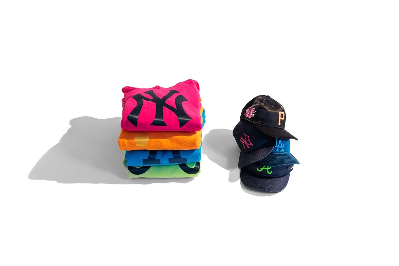 eric emanuel ner era collection fashion apparel 2018 november new york yankees los angeles dodgers pittsburgh pirates atlanta braves