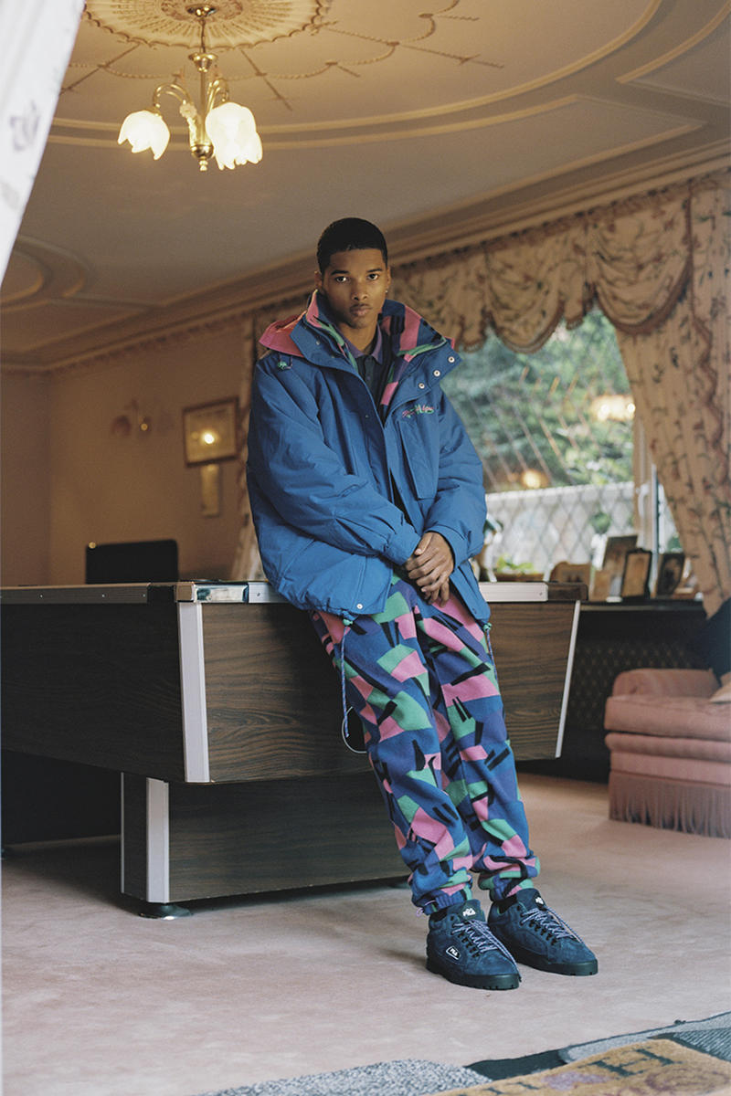 FILA Relaunching 'Magic' Clothing Line Too Hot Limited Collection Ollie Evans Vintage Archive 80s 90s skiwear