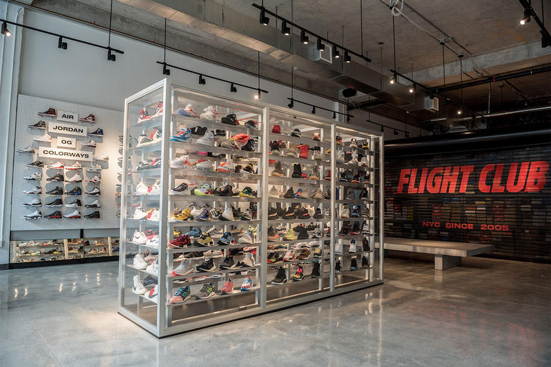 flight club miami pop up footwear 2018