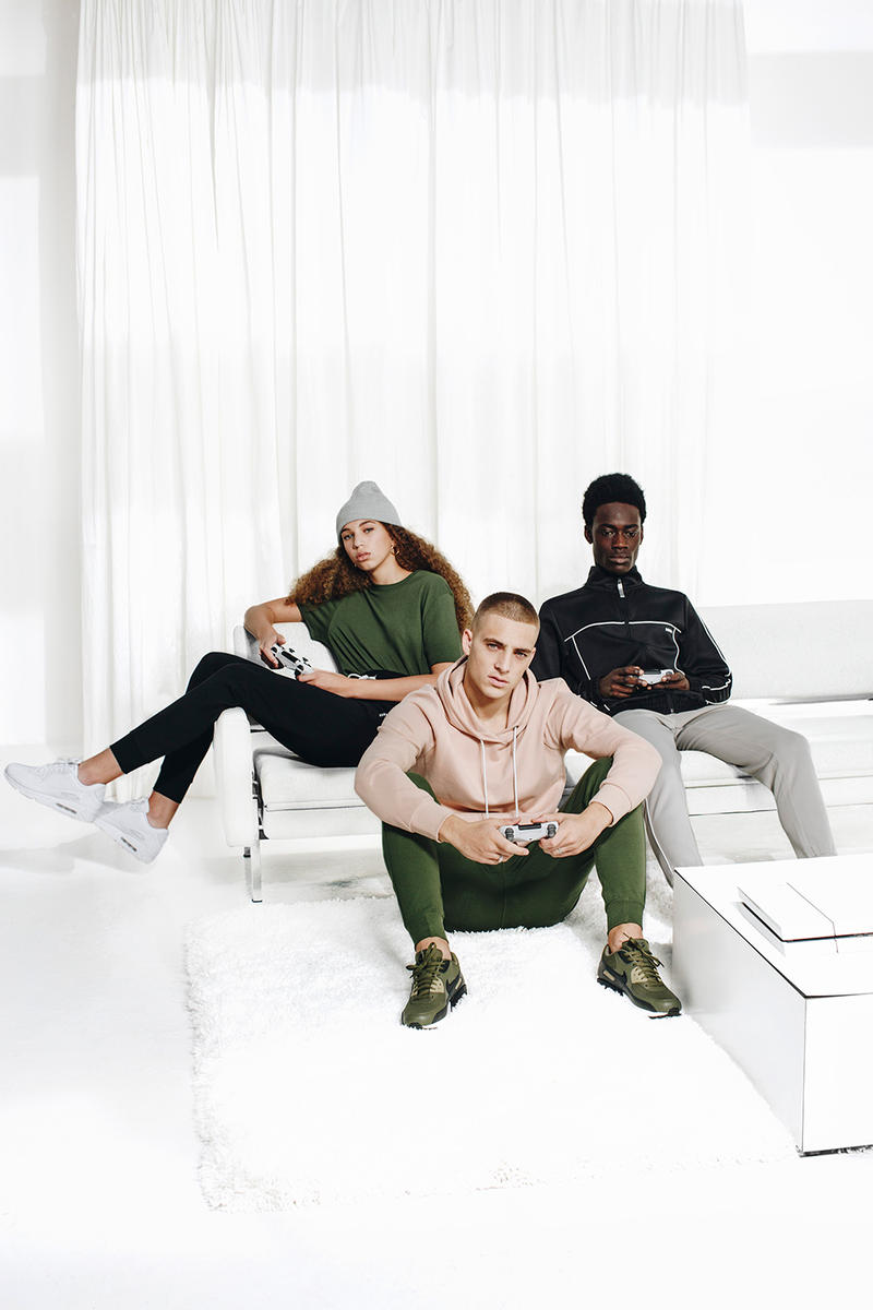 Foot Locker Launches New Apparel Fashion Line Neutral Tones Essential Unisex Clothing