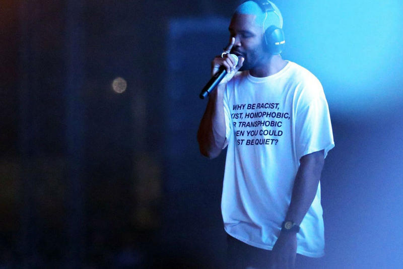 Frank Ocean Limited Tees for November 6 Voters
