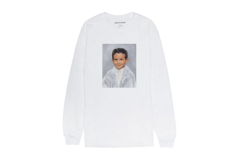 Fucking Awesome dylan rieder capsule shirt long short sleeve skate board deck white black dipped school photograph print image