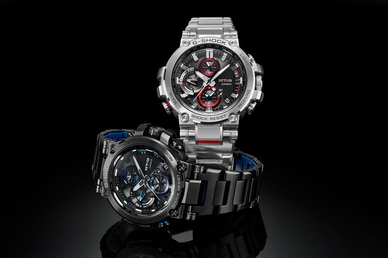 G-SHOCK Debuts Premium, Bluetooth-Enabled MT-G Watches