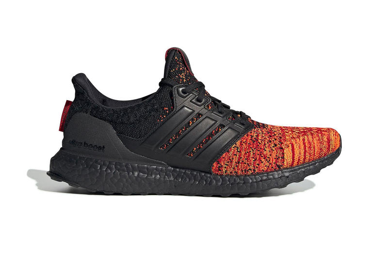 "'Game of Thrones' x adidas UltraBOOST ""House Targareyn Dragons"" official look hbo"